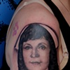 Ron Meyers - Tattoo of Becky's Mom