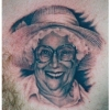 Ron Meyers - Tattoo of Clients Gramma