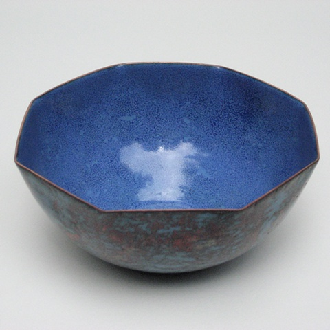 Faceted Bowl