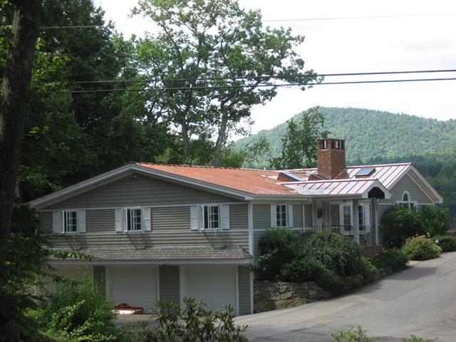 Standing Seam Double Lock Copper Roof