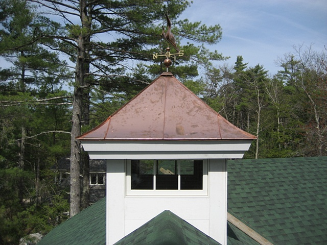 Copper Cupola Roof