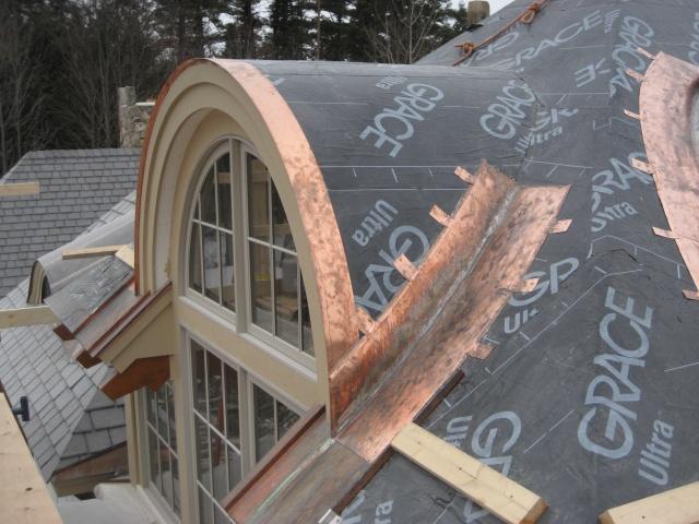 Roof Construction Barrel Roof Construction