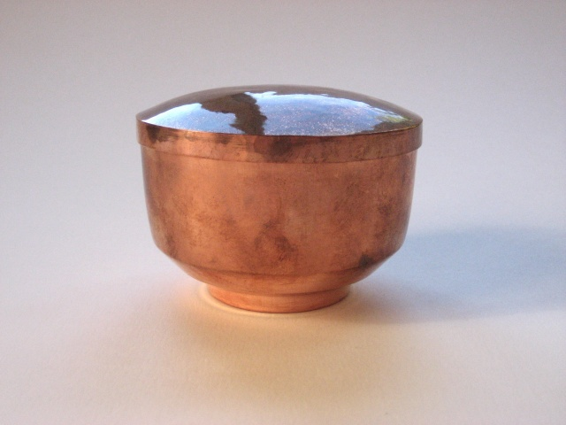 Copper Vessel With Cover