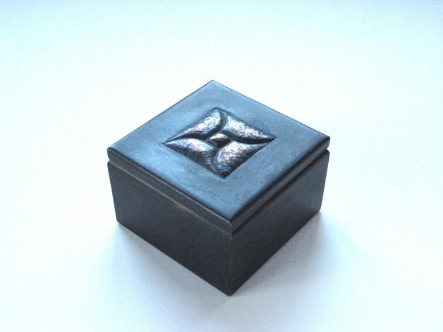 """3"""" Square Box With Square Design"""