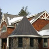 Curved and Coned Copper Roofs