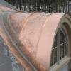 Barrel Roof Panels Installed