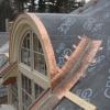 Barrel Roof Construction