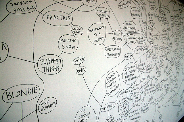 """""""Dataflow"""" DETAIL (approximately 10' of a 50' wall)"""