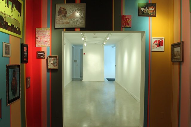 Speaking in Parables Will Get You Nowhere With This Crowd - INSTALLATION VIEW - South