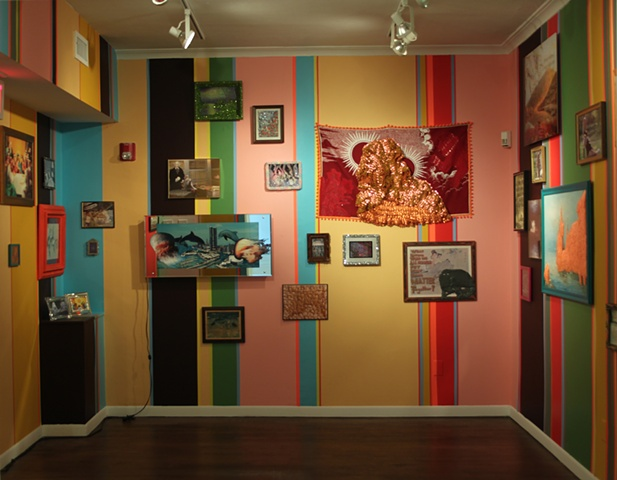 Speaking in Parables Will Get You Nowhere With This Crowd - INSTALLATION VIEW - North