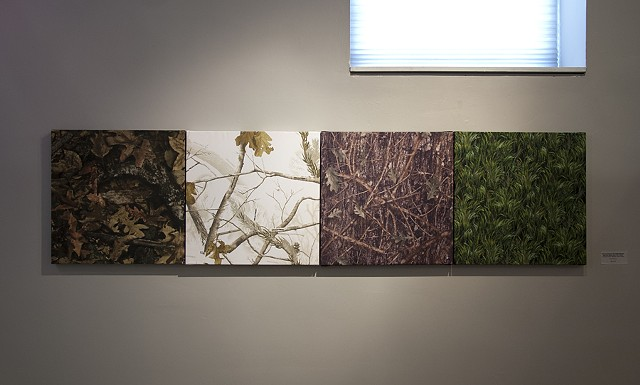 The Four Seasons: True Timber Harvest, Real Tree Snow Color, True Timber Conceal Green, Meadow Grass Green
