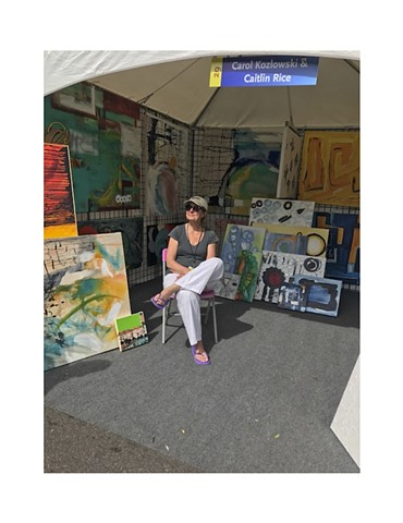 """Summer Art Market"" Art League of Denver"