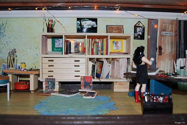 Altered doll house