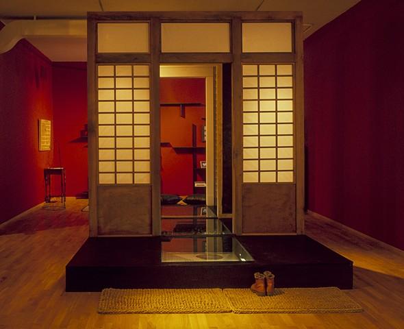 Issei, Nisei, Sansei,…, Kristine Aono, Installation, Washington Project for the Arts, Japanese American,