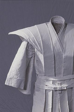 Ghost Kimono, Kristine Aono, sculpure, kimono series