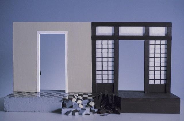 Culture Shock, Kristine Aono, Japanese American, sculpture, l