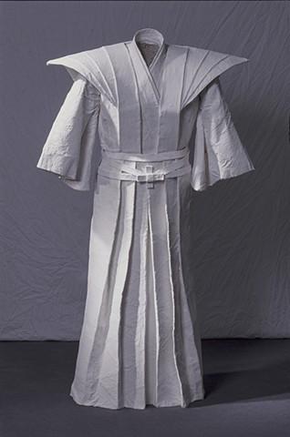 Ghost Kimono, Kristine Aono, sculpture, kimono series