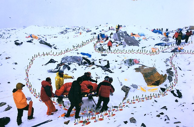 Reified Earthquake, Base Camp, Mount Everest, 2015