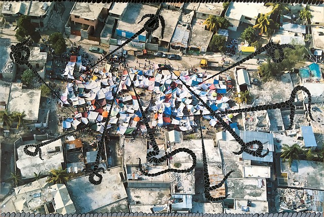 Reified Tent City, Ropes, Haiti