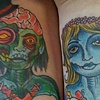 Zombie Love Tattoos by Little Chico 2010