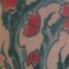 Tree With Flowers Tattoo by Little Chico 2008