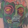 Zombie Boy Tattoo By Little Chico 2010