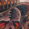 Cowboy Skull Tattoo By Little Chico 2005