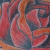 Neck Rose Tattoo by Little Chico 2010