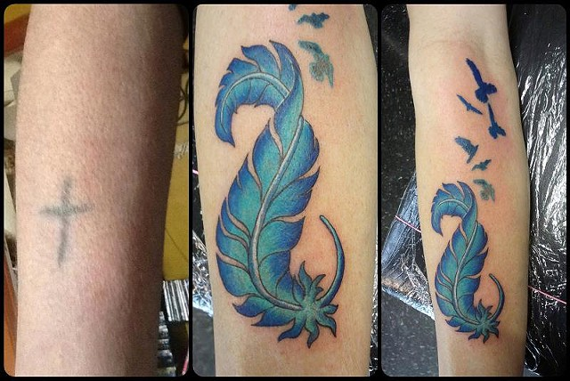Feather Cover-Up