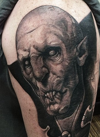 Tattoo by Daniel Danckert