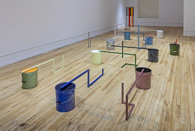 50 Gallons, Installation View