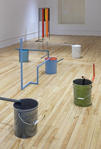 50 Gallons Installation View