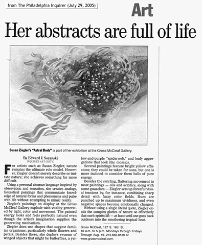 "Review ""Her Abstracts are Full of Life"""