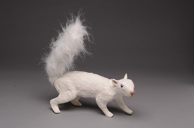 Walking Squirrel (white)