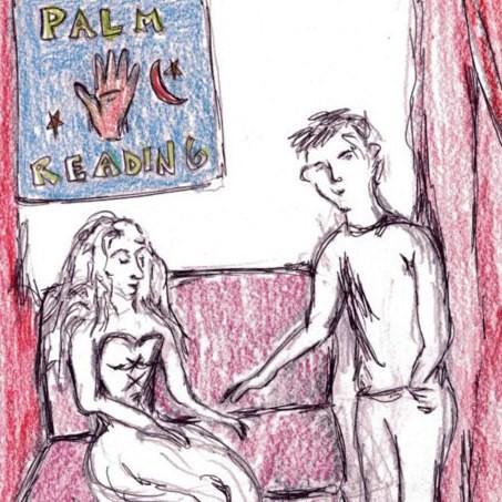 SKETCH FOR PALM READER