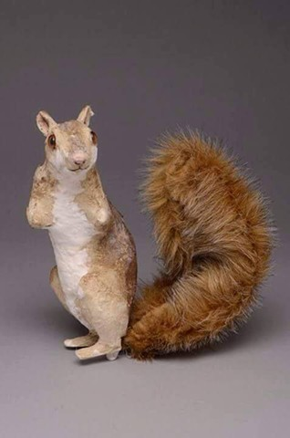 Standing Squirrel with twist