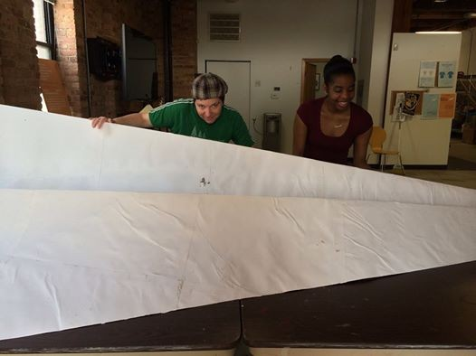 12 feet of paper airplane is a lot of paper airplane