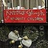 Krampus Sleigh for Naughty Children