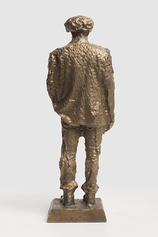 Patrizio (Bronze Techno CNC, Back View)