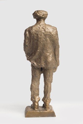 Patrizio (Bronze scan from CNC, back)