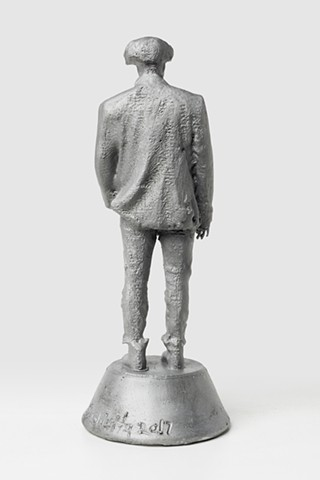 Patrizio (Aluminum with signature 2, Back View)