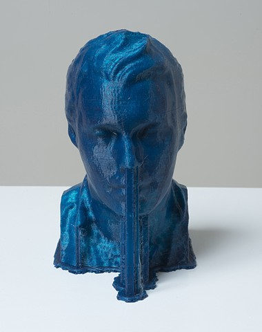 Richard (3D Print/Blue Bust)