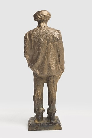 Patrizio (Small Bronze Roland CNC, Back view)