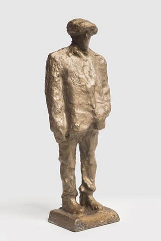 Patrizio (Bronze scan from CNC, 3/4 view)