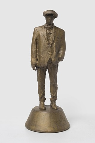 Patrizio (Bronze with signature 1, Front View)