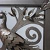 Peacock Gates (Detail)