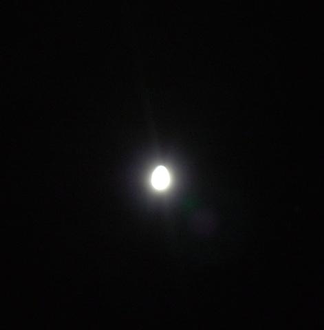 Egg. Moon.