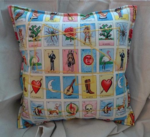 (Time Travel Pillows) Tarot/Yellow, Large