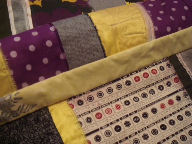 Wine Stained Quilt