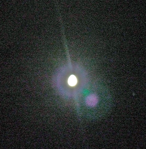 Egg. Moon. (In Static)